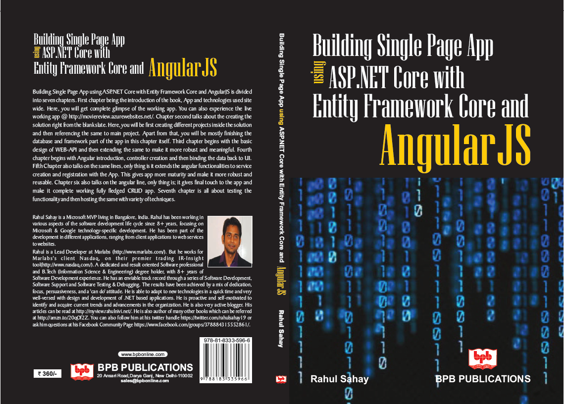 How to create web api in asp net core mvc using entity - Book_cover